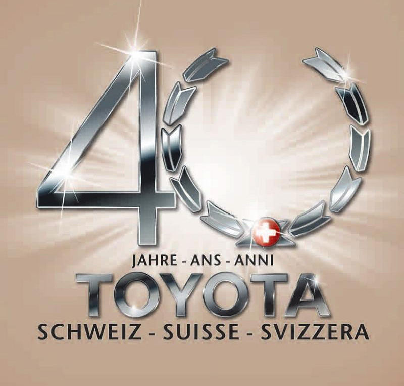 40 Jahre Toyota Schweiz