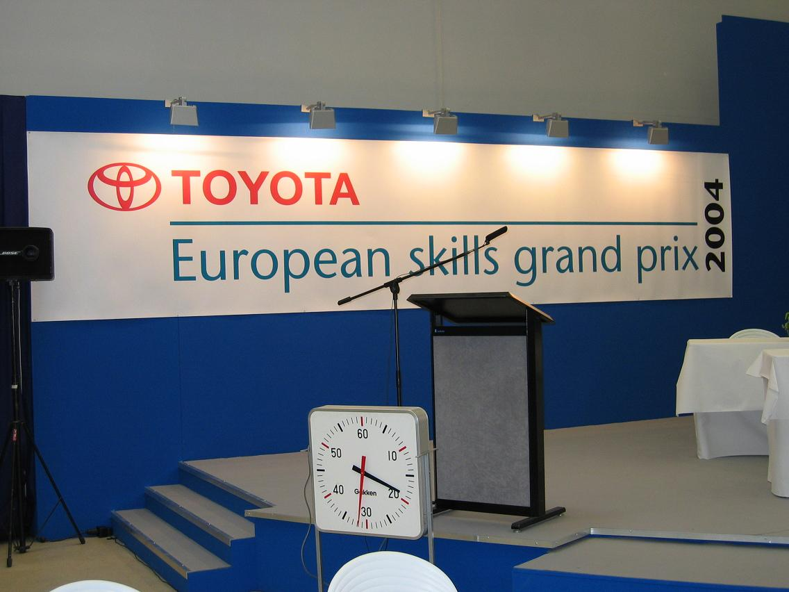 European Skills Grand Prix Toyota