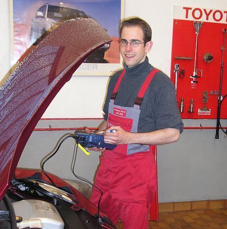 Stefan Wüst tritt in die Firma ein 2002