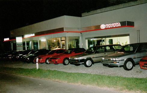Eröffnung Umbau Ausstellung 1994