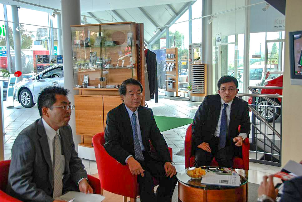 Hoher Besuch aus Japan - Mr. Kazuo Okamoto - Vice Chairman - Toyota Motor Corporation