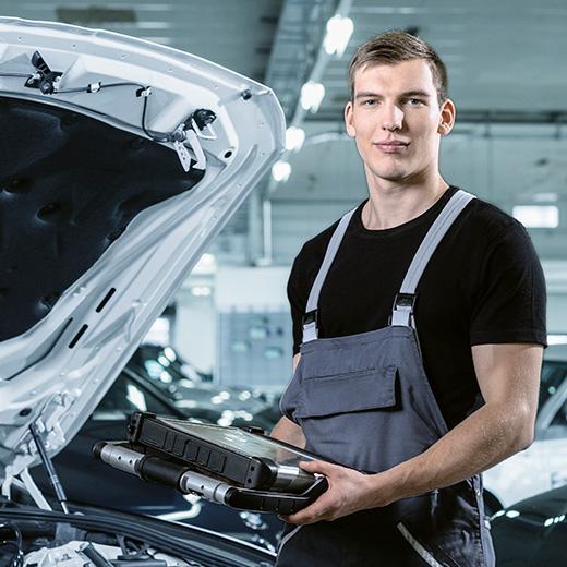 Ausbildung im Autogewerbe: Automobil-Mechatroniker/in EFZ