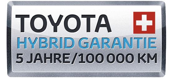 Toyota Hybrid Garantie