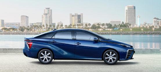 Brennstoffzellenauto, Toyota, Wasserstoff