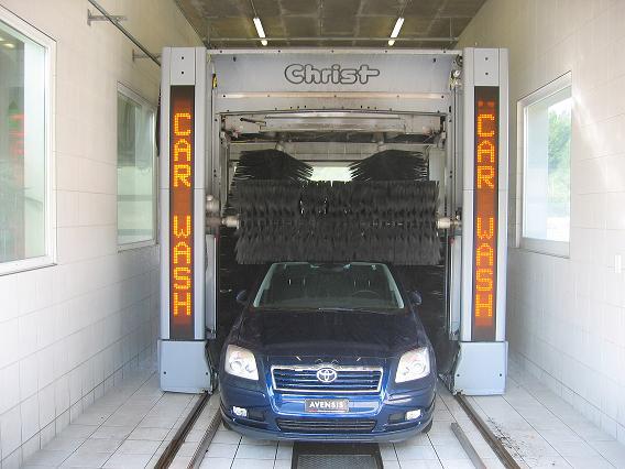 Textil-Waschanlage, Waschanlage, Toyota, Avensis