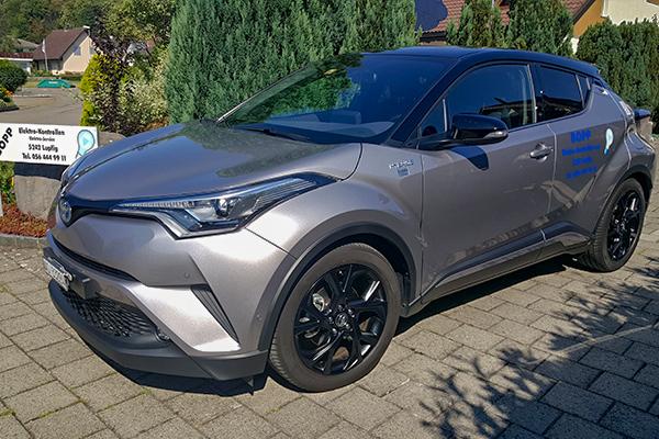 Toyota von BOPP Elektrokontrollen AG