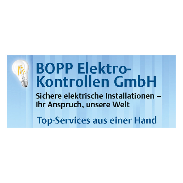 bopp elektrokontrollen s dbahngarage w st ag. Black Bedroom Furniture Sets. Home Design Ideas