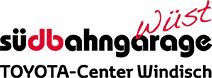 Logo Südbahngarage Wüst AG