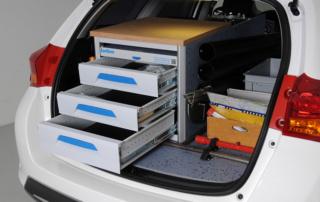 Fahrzeugeinrichtung Toyota Auris - Sortimo