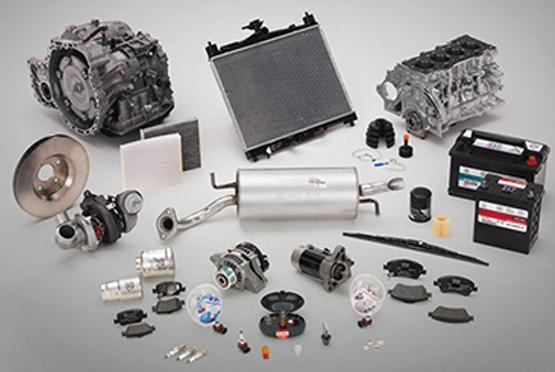 Toyota Austauschteile - Produktpalette