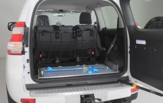 Fahrzeugeinrichtung Toyota Land Cruiser - Sortimo