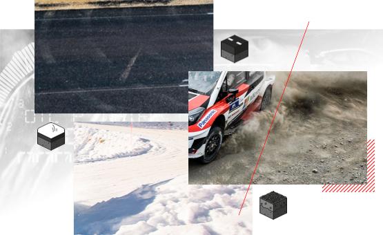 Asphalt - Schotter - Schnee