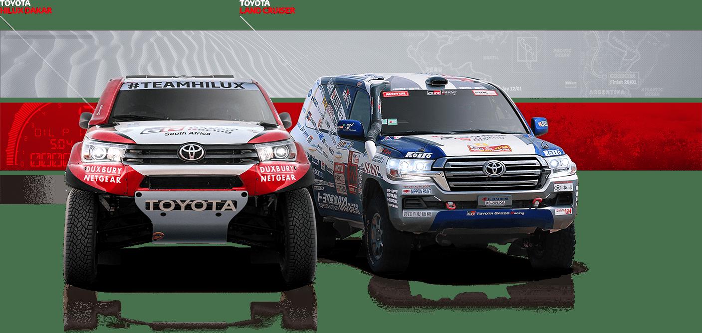 Toyota Hilux Dakar, Toyota Hilux Land Cruiser