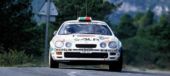 Toyota Motorsport Geschichte Celica GT-four