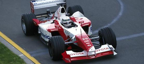 Toyota Motorsport Geschichte Toyota TF107