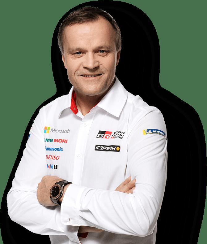 WRC Toyota Team-Chef Tommi Mäkinen
