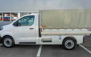 Toyota Proace Umbauten: Brückenaufbau Plachenaufbau