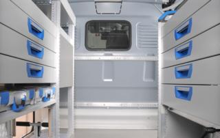 Fahrzeugeinrichtung Toyota Proace - Sortimo