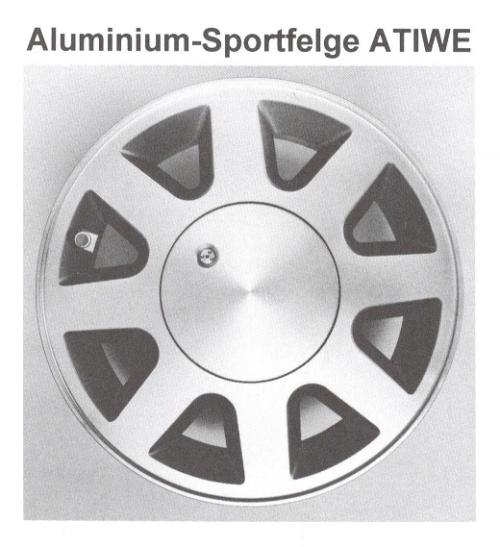 Alufelge ATIWE 6x14 Camry [SV20] Celica [ST160] 42611-V6430-05