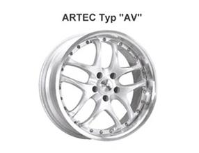 Alufelge Artec AV 8x17 Auris [E15] Corolla Verso [R10] RAV4 [A30] 05003-AV817-14