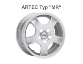 Alufelge Artec MR 7x15 Yaris [P10] Corolla Verso [E12] 05003-MR705-04