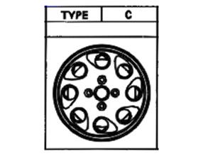 Alufelge Original 6x14 MR2 [W10] 42611-17060