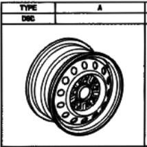 Stahlfelge Original Schwarz 5.5x14 Camry [XV10/XV20] 42611-32260-01