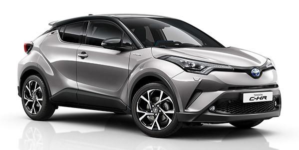 Zubehör-Prospekt Toyota C-HR