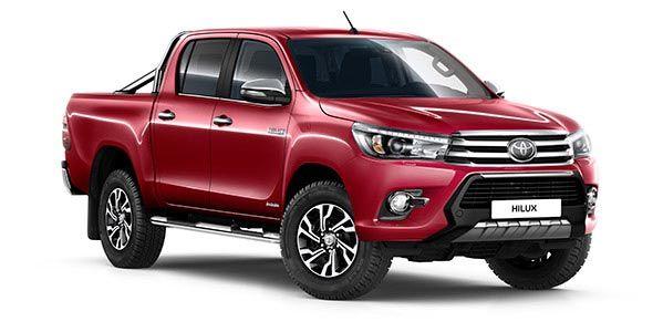 Zubehör-Prospekt Toyota Hilux