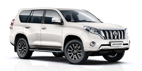 Zubehör-Prospekt Toyota Land Cruiser