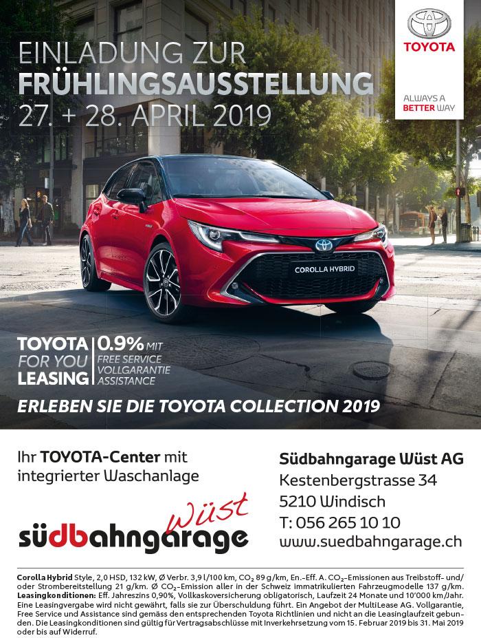 Toyota Fruehlingsausstellung 2019