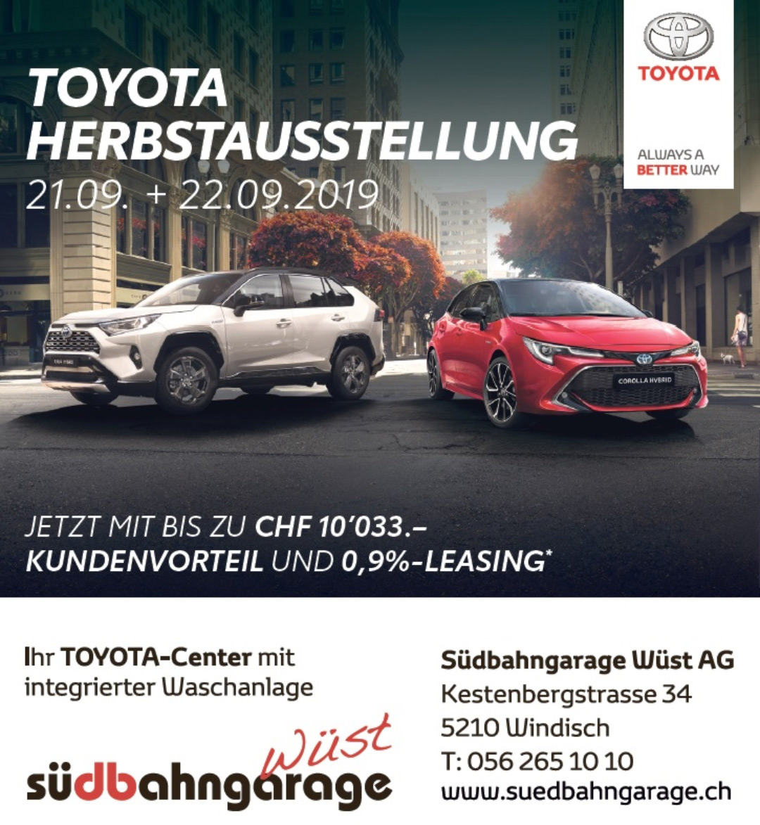 Toyota Herbstausstellung