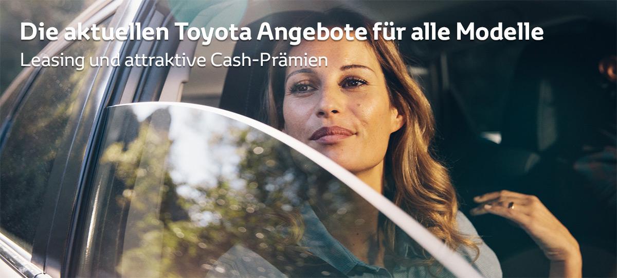 Aktuelle Toyota Promotionen